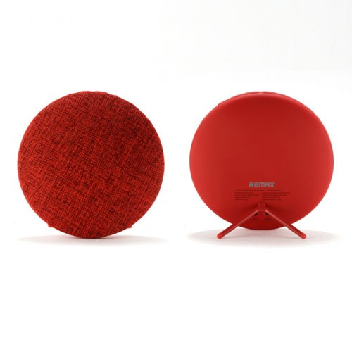 Remax Bluetooth Speaker Hi-Fi Stereo with Canvas Fabric RB-M9 - Red