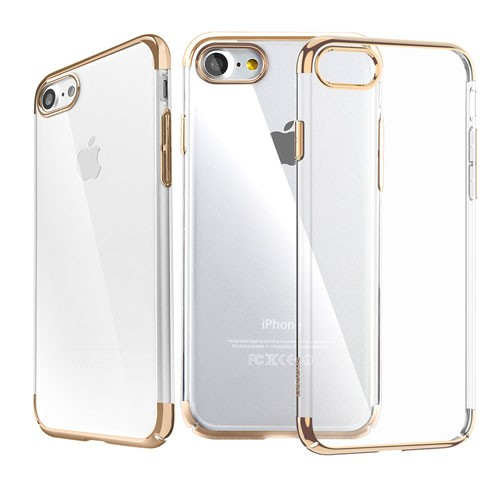 Baseus Glitter Case (PC) for iPhone 7 - Gold