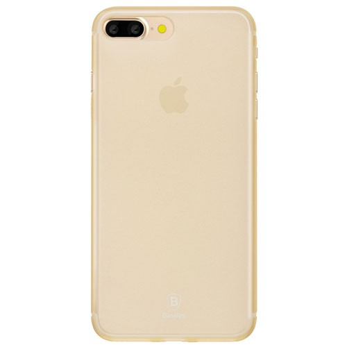 Baseus Slim Case for iPhone 7 Plus - Transparent Gold