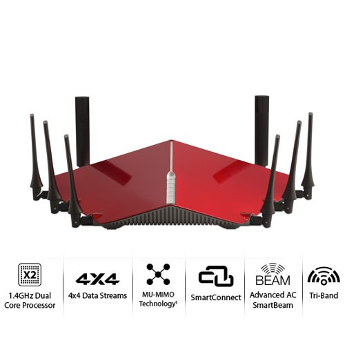 D-Link Tri-Band Wireless AC5300 Ultra Gigabit Router- DIR-895L