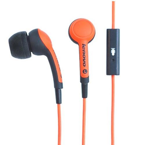 Lenovo in ear headset P165 - Orange