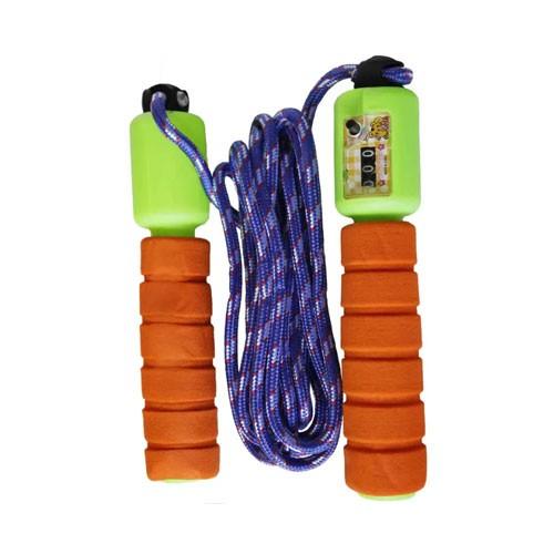 Jumping Rope Skipping Colorful  9 feet (Tali Lompat) - Orange Green