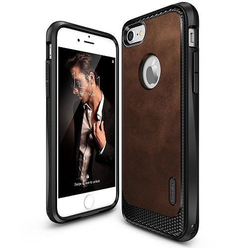 Rearth Ringke Flex S for iPhone 8 / iPhone 7 - Brown