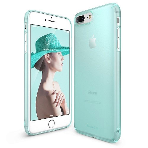 Rearth Ringke Slim for iPhone 8 Plus / iPhone 7 Plus - Frost Mint