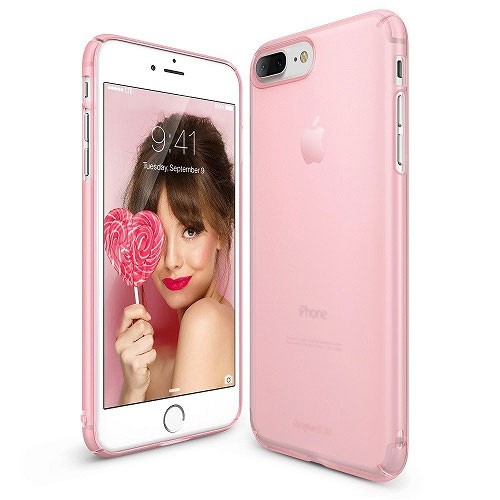 Rearth Ringke Slim for iPhone 8 Plus / iPhone 7 Plus - Frost Pink