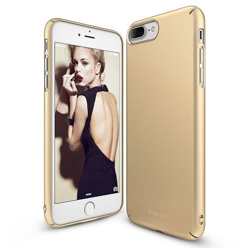 Rearth Ringke Slim for iPhone 8 Plus / iPhone 7 Plus - Royal Gold