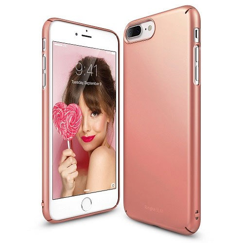 Rearth Ringke Slim for iPhone 8 Plus / iPhone 7 Plus - Rose Gold