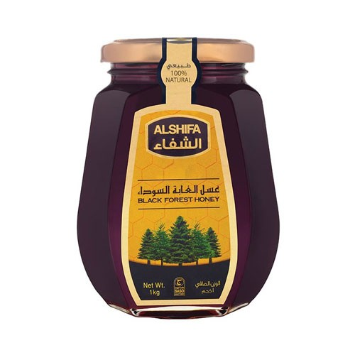 Alshifa Black Forest Honey - 1Kg