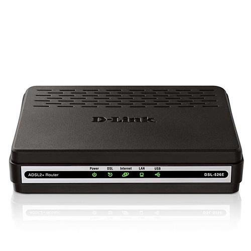 D-Link Router ADSL2+ - DSL-526E