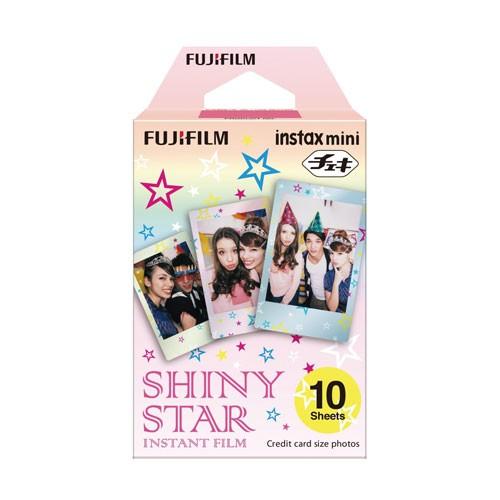 Fujifilm Instax Paper Motif Single Pack (Isi : 10 pcs) - Shiny Star