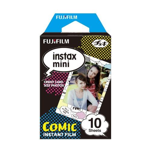 Fujifilm Instax Paper Motif Single Pack (Isi : 10 pcs) - Comic