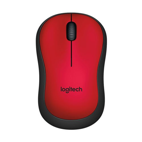 Logitech Silent Wireless Mouse M221 - Red
