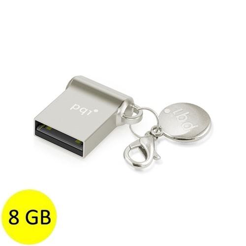 PQI Flash Drive USB 2.0 i-mini II U838L 8GB - Silver