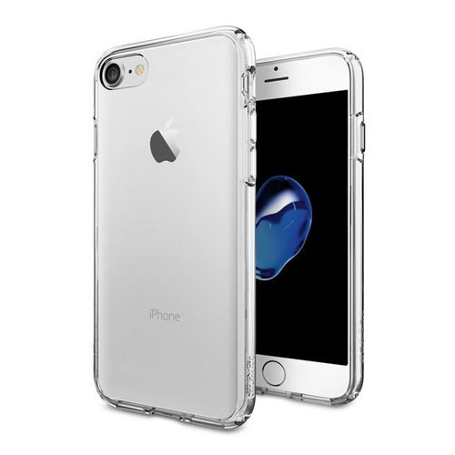 Spigen Ultra Hybrid for iPhone 8 / iPhone 7 - Crystal Clear