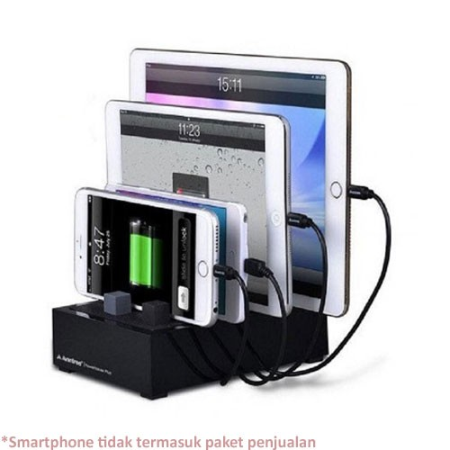 Avantree Desktop USB Charging Station Power House Plus - Black