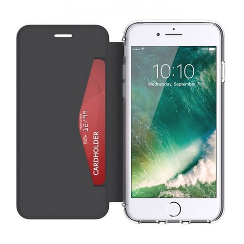 Griffin Reveal Wallet for iPhone 7 GB42753 - Black/Clear