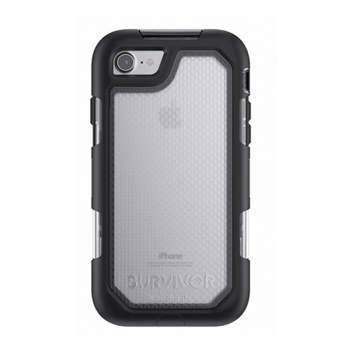 Griffin Survivor Summit for iPhone 7 GB42787 - Black/Clear