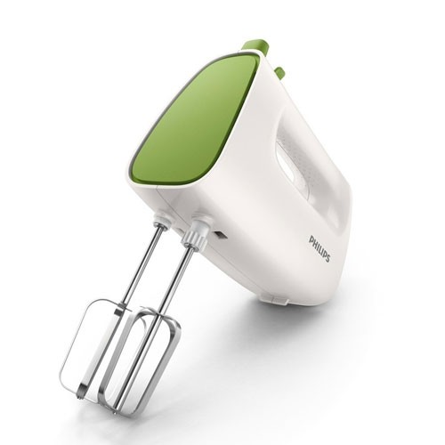 Philips Mixer Hand Cucina HR1552/40 - White Green