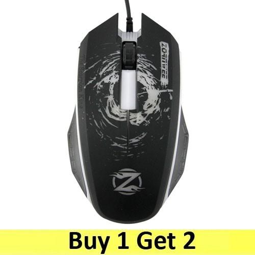 Zornwee Mouse Gaming XG-73 - Black (2 pc)