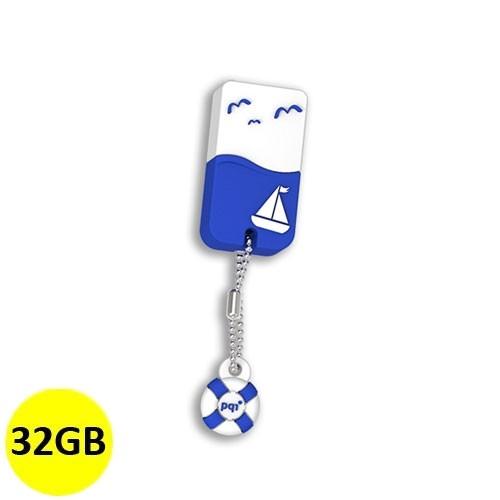 PQI Flash Drive USB 2.0 U605L 32GB - Blue
