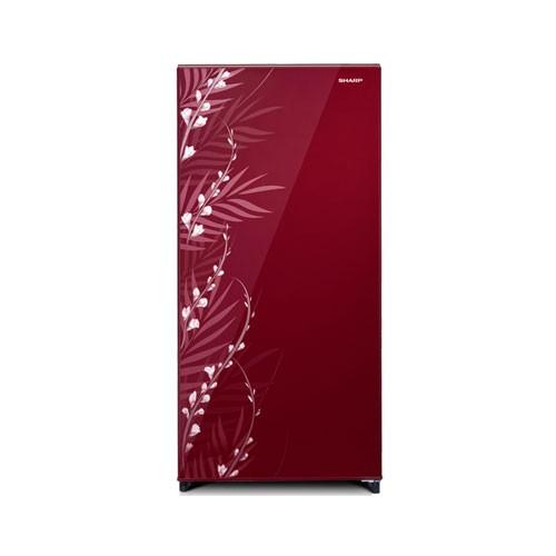 Sharp Kulkas Shine Magneglas Series SJ-X185MG-FB/FR - Red