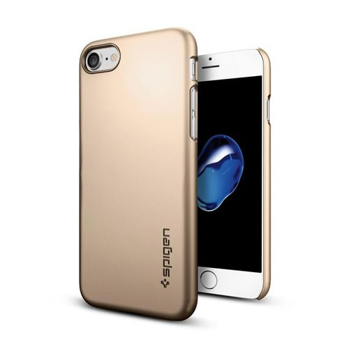 Spigen Thin Fit for iPhone 8 / iPhone 7 - Champagne Gold