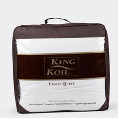King Koil - Royale Light Quilt Dacron (270x213) - White