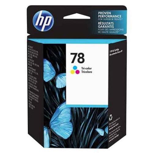 HP 78 Tri-color Original Ink Cartridge - C6578DA