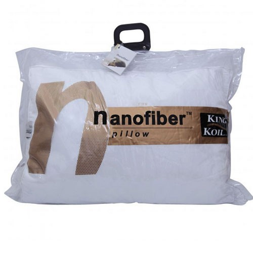 King Koil - Nano Fiber Pillow Soft (51X76) - White