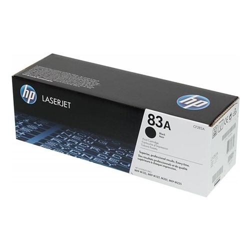 HP LaserJet 83A Toner Cartridge CF283A - Black