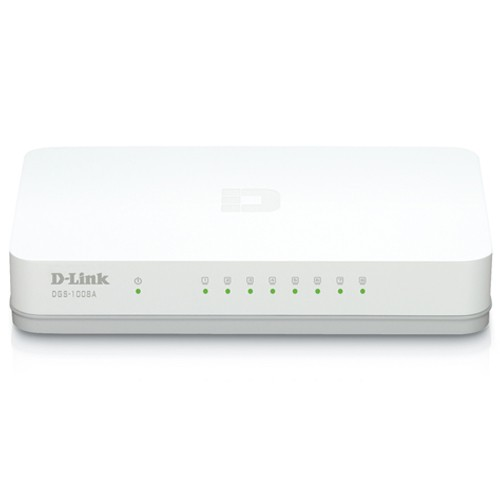 D-Link Switch Hub Gigabit LAN 8 Port - DGS-1008A/C