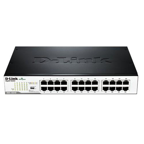D-Link 24-Port Rackmountable Gigabit Switch - DGS-1024D