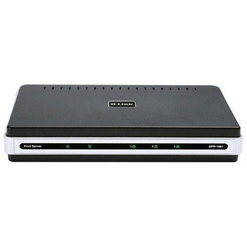 D-Link Print Server Wireless 3 Port - DPR-1061