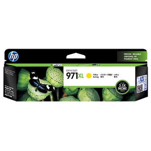 HP Ink Cartridge CN628AA -  971XL Yellow