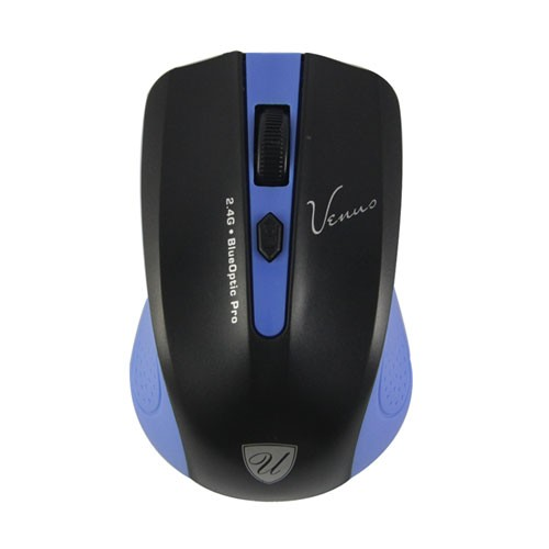 Venus USB Wireless Mouse - Blue