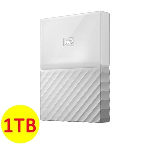 WD My Passport ULTRA New Design Portable Hard Disk Eksternal 1TB - White