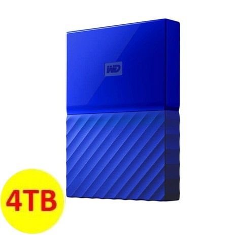 WD My Passport ULTRA New Design Portable Hard Disk Eksternal 4TB - Blue