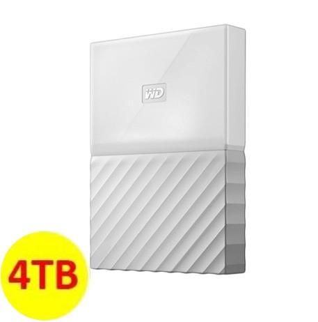 WD My Passport ULTRA New Design Portable Hard Disk Eksternal 4TB - White