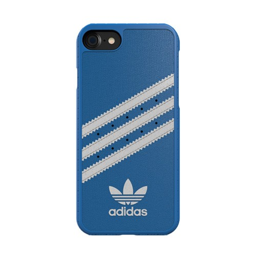 Adidas Moulded Case for iPhone 8 / iPhone 7 - Bluebird/White