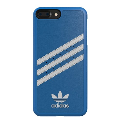Adidas Moulded Case for iPhone 8 Plus / iPhone 7 Plus - Bluebird/White