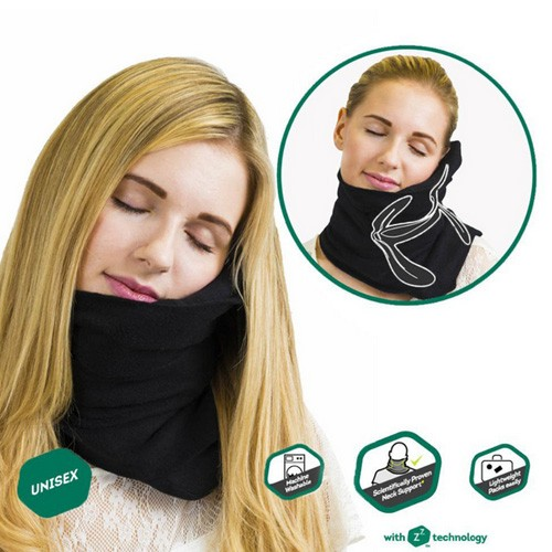 Travel Pillow Unisex - Black