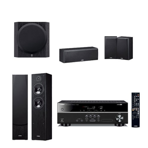 Yamaha Audio HT-2067 B (HTR-2067 + NS-F51 + NS-P51+ YST-SW216)