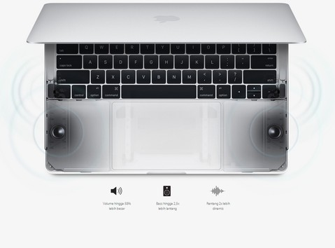 Apple 13 inch MacBook Pro Touch Bar with Intel Core i5/8GB/256GB - Silver