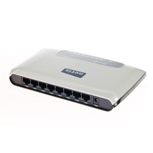 Netis Unmanaged Switch 8 Port Gigabit Ethernet Switch, Plastic Housing - ST3108G