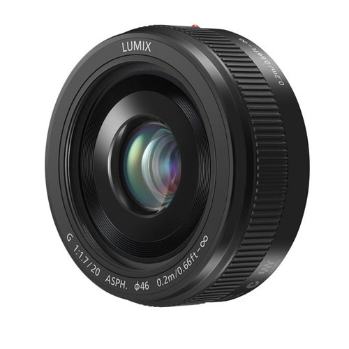Panasonic Lumix G Lens 20mm H-H020AE-K