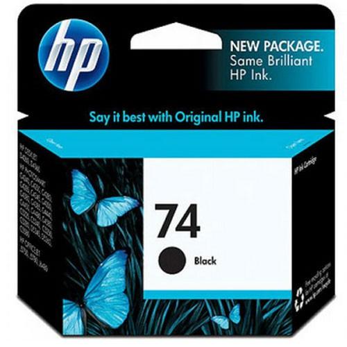 HP 74 Black Inkjet Print Cartridge CB335WA
