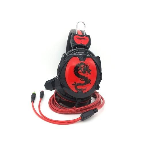 Keenion Headset Gaming KOS 9199 - Black Red