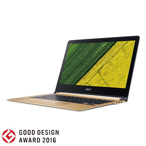Acer Notebook Swift 7 - NX.GK6SN.001 - Black Gold