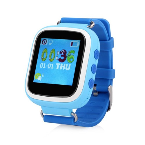 Wonlex Cleverwatch GPS Tracker Watch GW200 - Blue