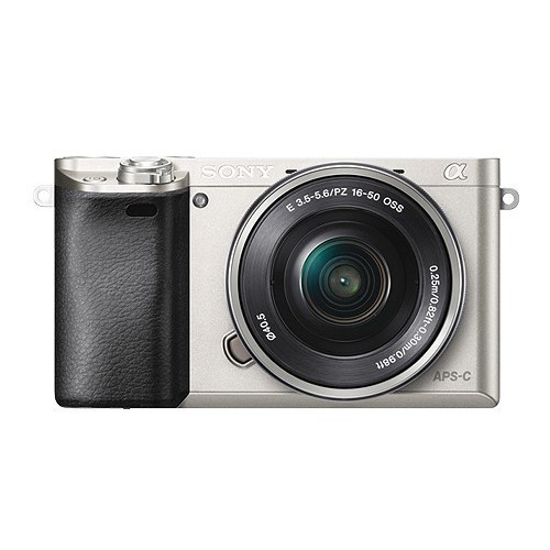 Sony Camera Digital Mirrorless Alpha a6000 L 16-50mm - Silver